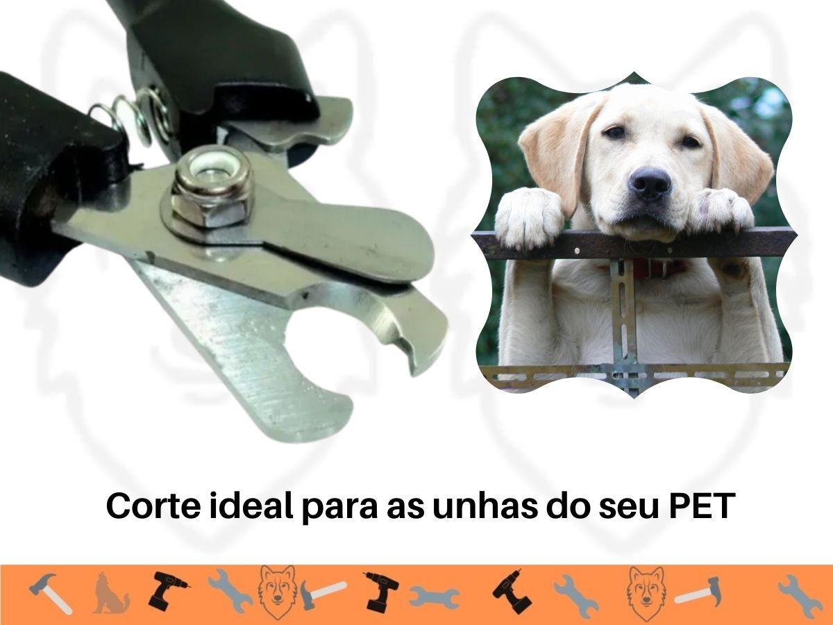 Alicate Para Corte de Unhas Pet Western Pet-58 16 Cm
