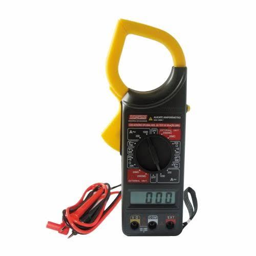 Alicate Amperímetro Digital Thompson 881 Profissional Com Estojo