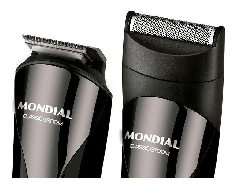 Aparador De Pelos E Cabelo Mondial BG-02 Classic Groom 3 Em 1