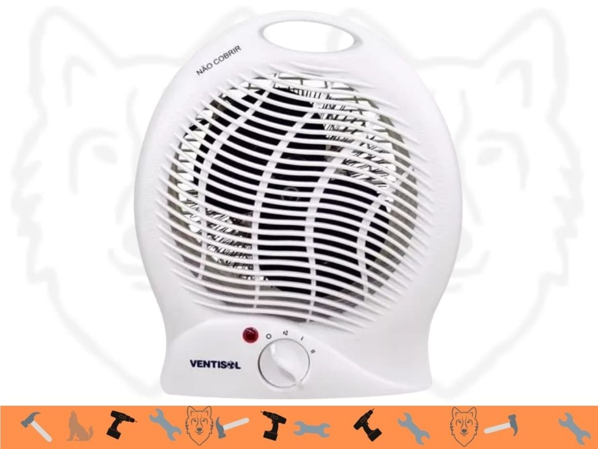 Aquecedor Termoventilador Ventisol A1-01 1500w Branco