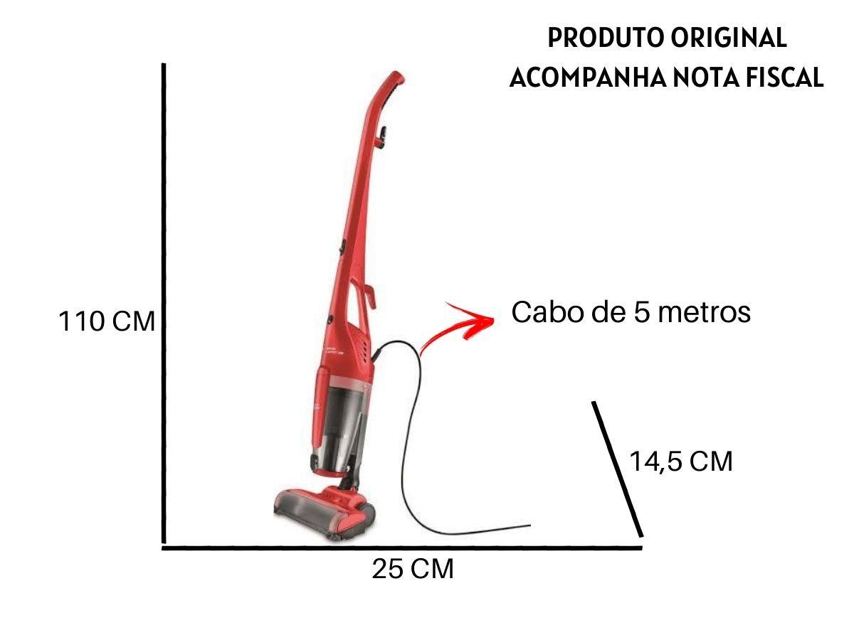Aspirador De Pó Vertical Mondial Ap-25 Brush Carpet 1200w 3 Em 1
