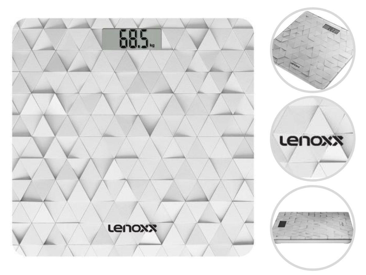 Balança Digital Corporal Lenoxx Pbl-793 Shape á Pilha
