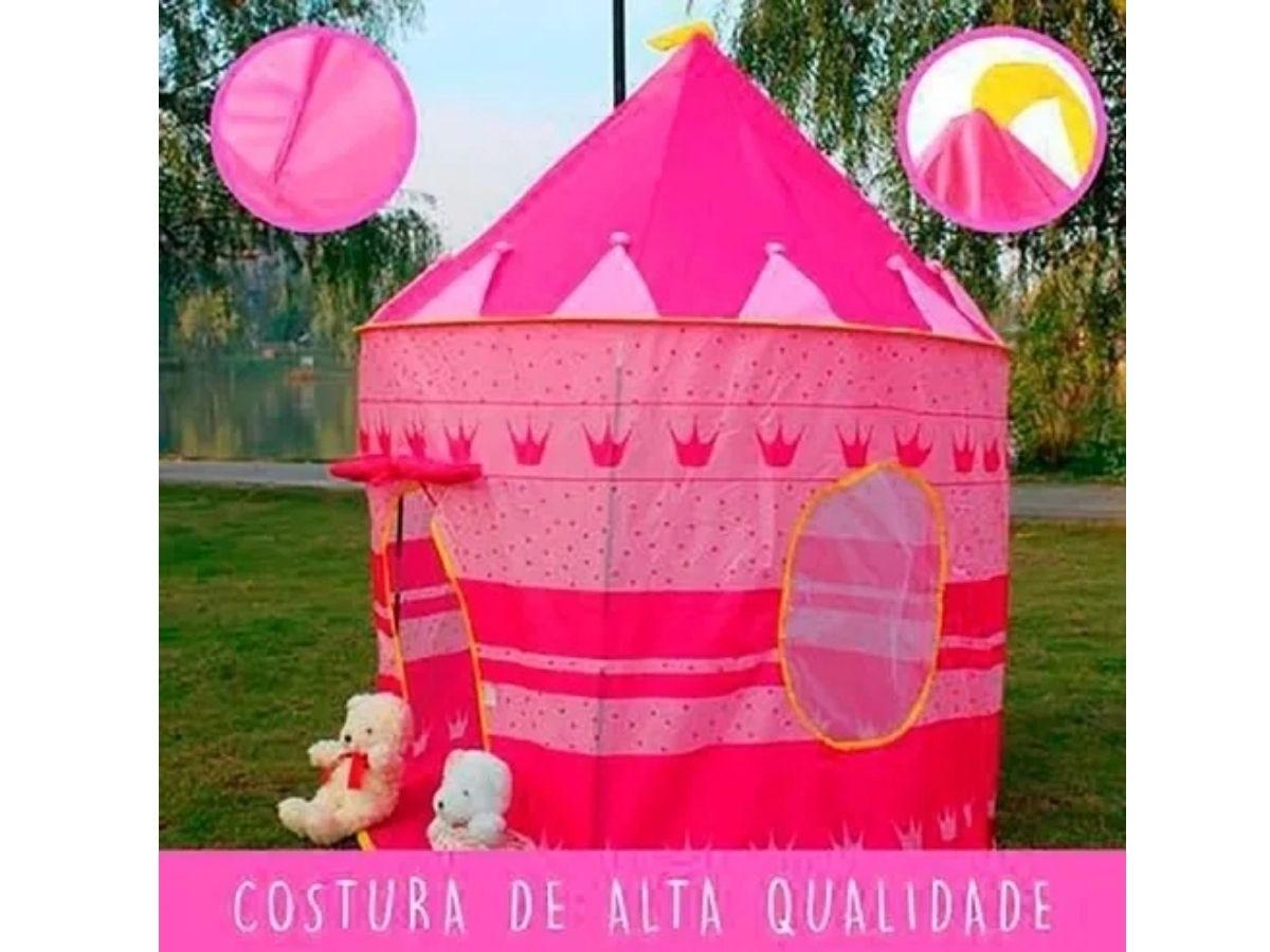 Barraca Cabana Infantil Castelo Das Princesas Etitoys