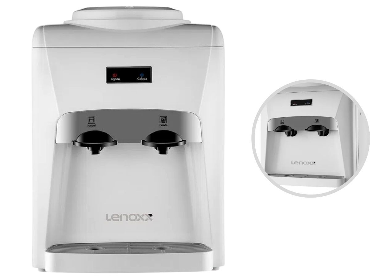 Bebedouro Eletrônico Lenoxx Pbr-805 Supreme 60w Branco