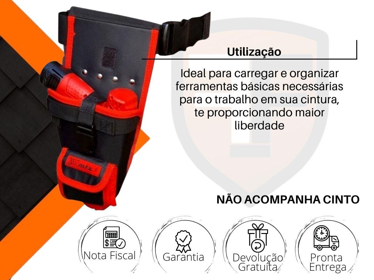 Bolsa De Cintura Mtx 902439 Lona Rebitada Porta Ferramentas