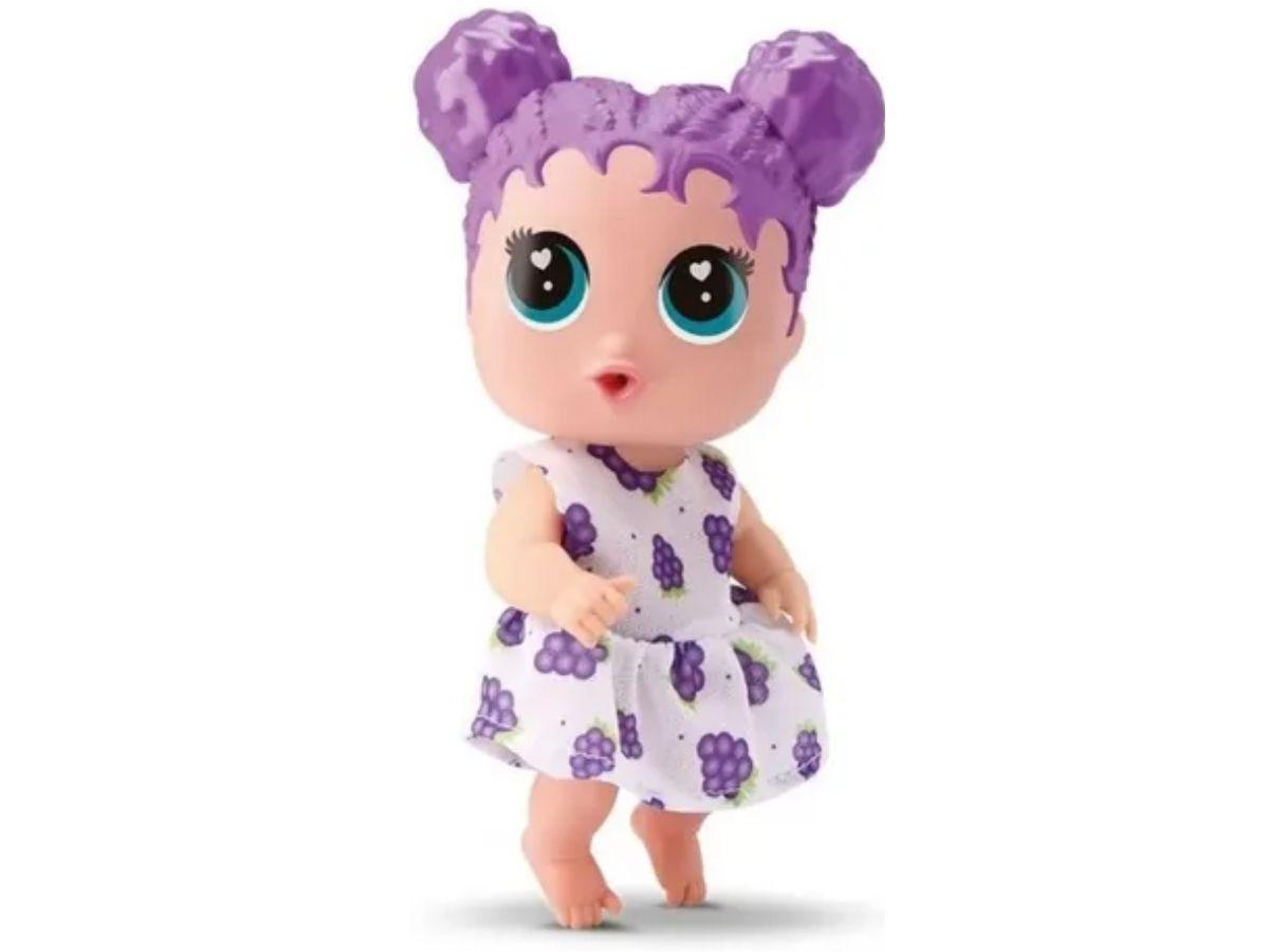 Brinquedo Boneca Babybudd Bambola 0698 3 Sabores