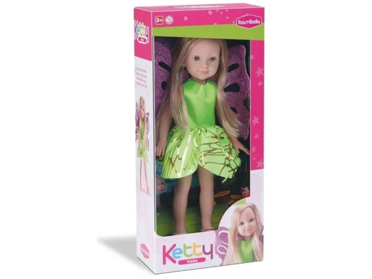 Brinquedo Boneca Ketty Fada Bambola 680 + 3 Anos
