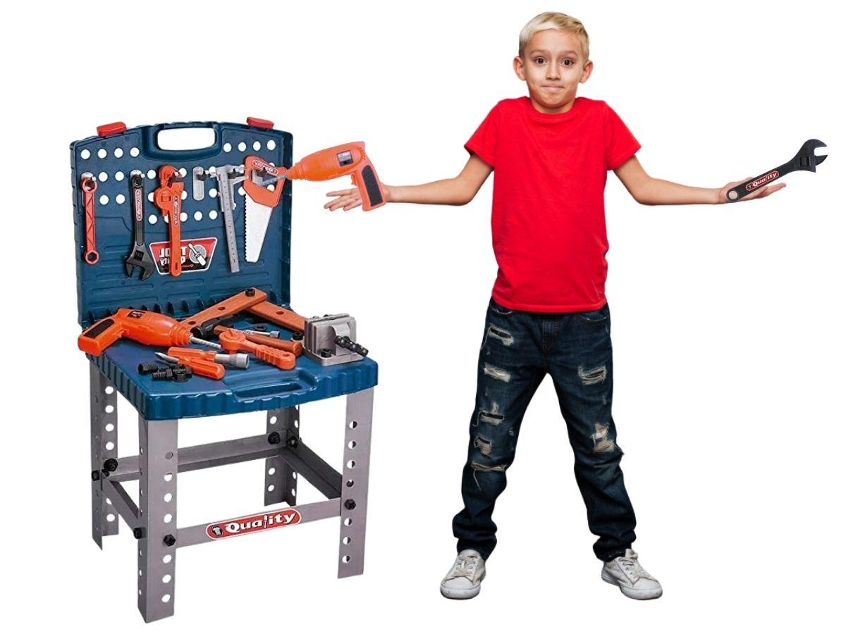 Brinquedo Kit De Ferramentas Infantil Bel 489400 53 Peças