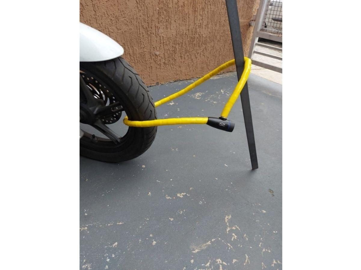 Cadeado Flexível Com Chave Chevrolet GM-9602 1M