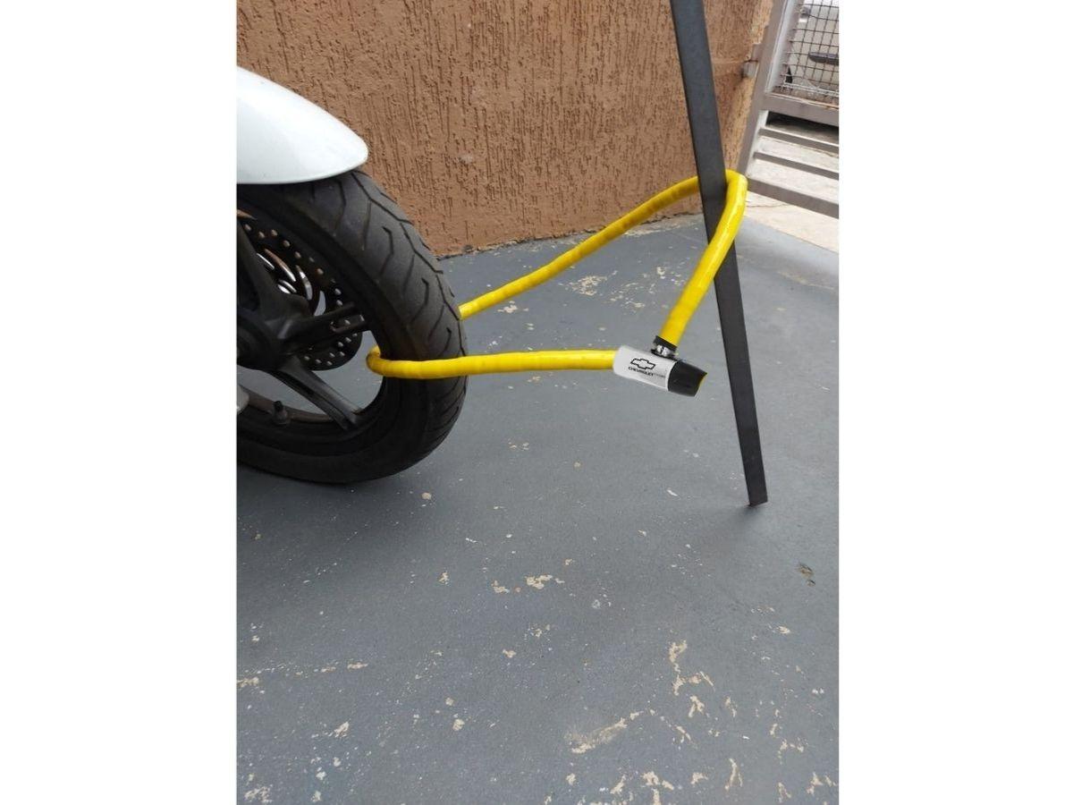 Cadeado Flexível Com Chave Chevrolet GM-9605 1,2M