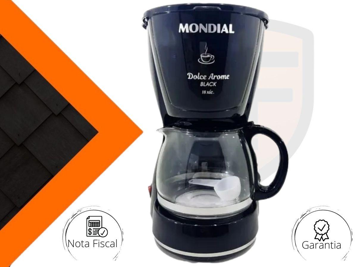 Cafeteira Elétrica Mondial C-30-18x Dolce Arome Black