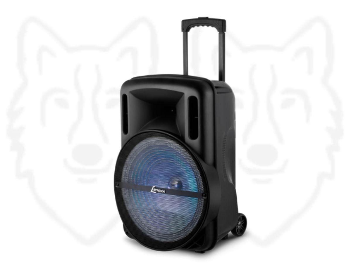 Caixa de Som Amplificada Lenox CA-350 500rms Com Display Digital
