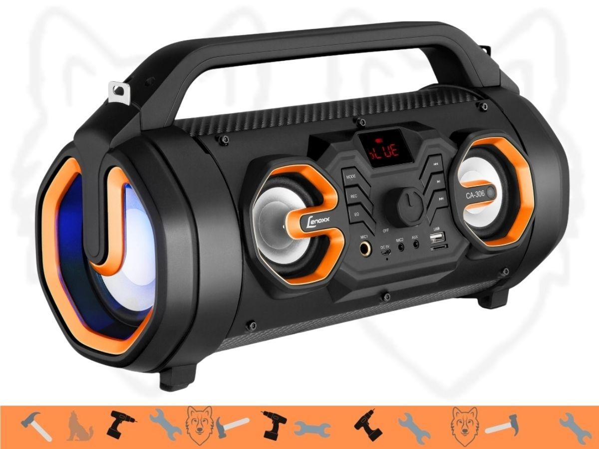 Caixa de som Speaker Lenoxx BT-560 60W Bluetooth