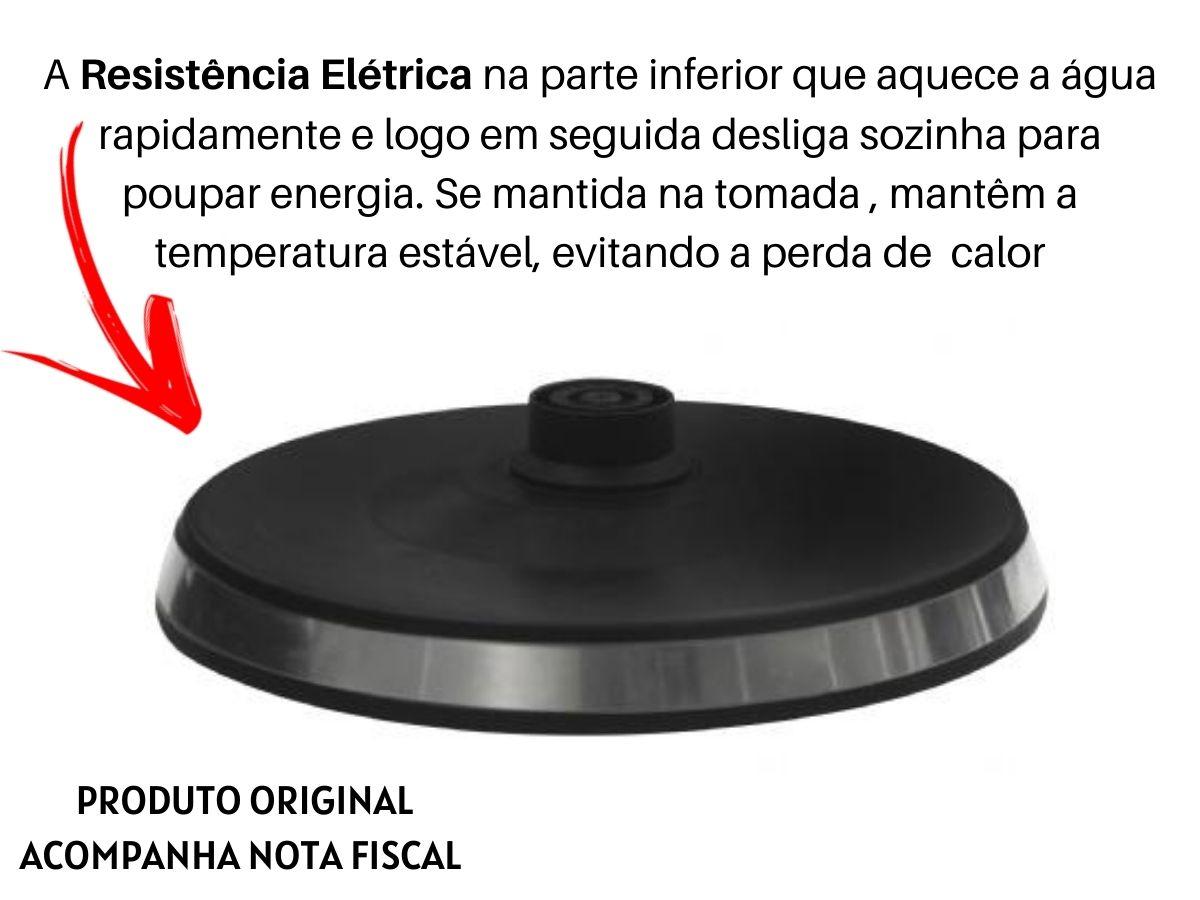 Chaleira Elétrica 1,8L Lenoxx Pce-211 Express Inox