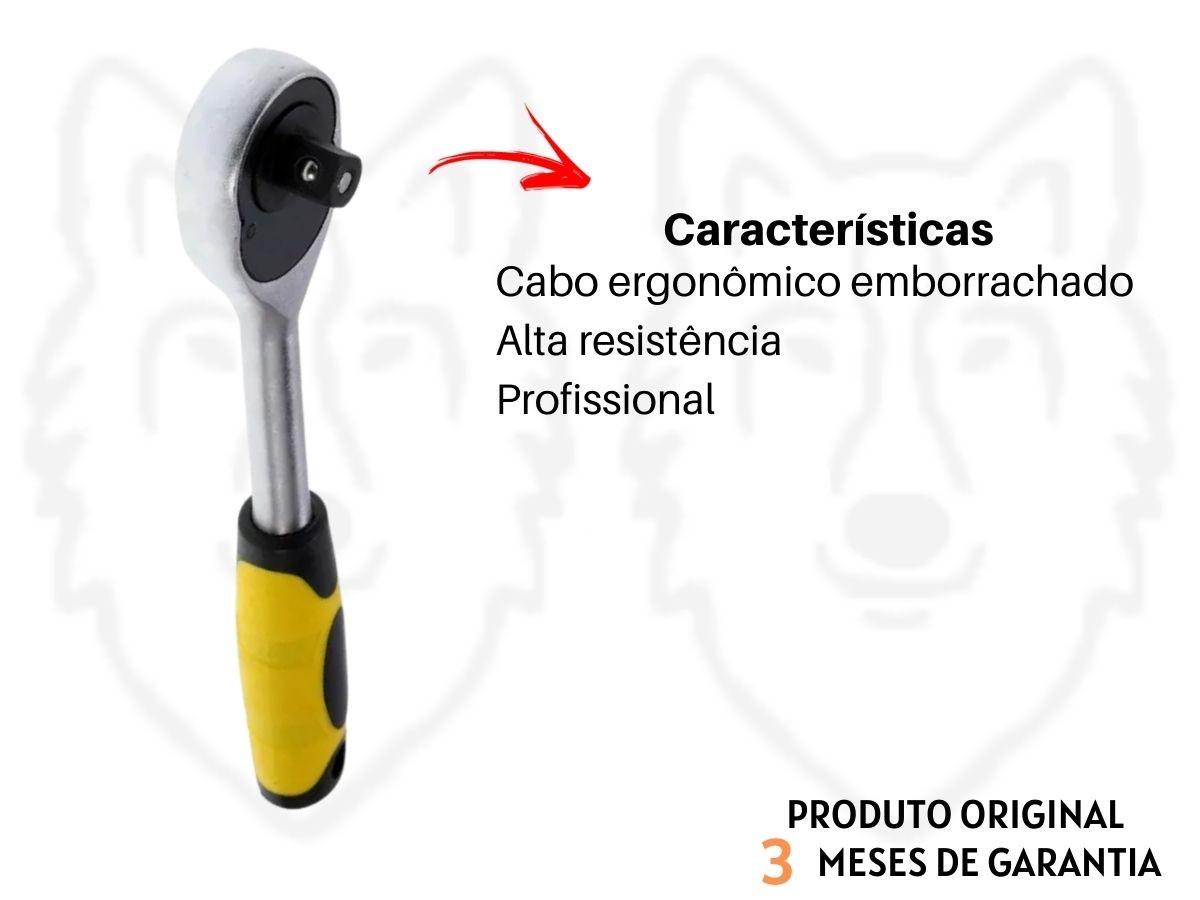 Chave Catraca 1/2 Pol. Eda 9EB Aço Cromo Vanádio