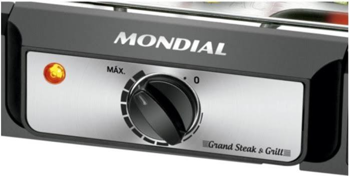 Churrasqueira Elétrica Mondial CH-05 Steak 1800w