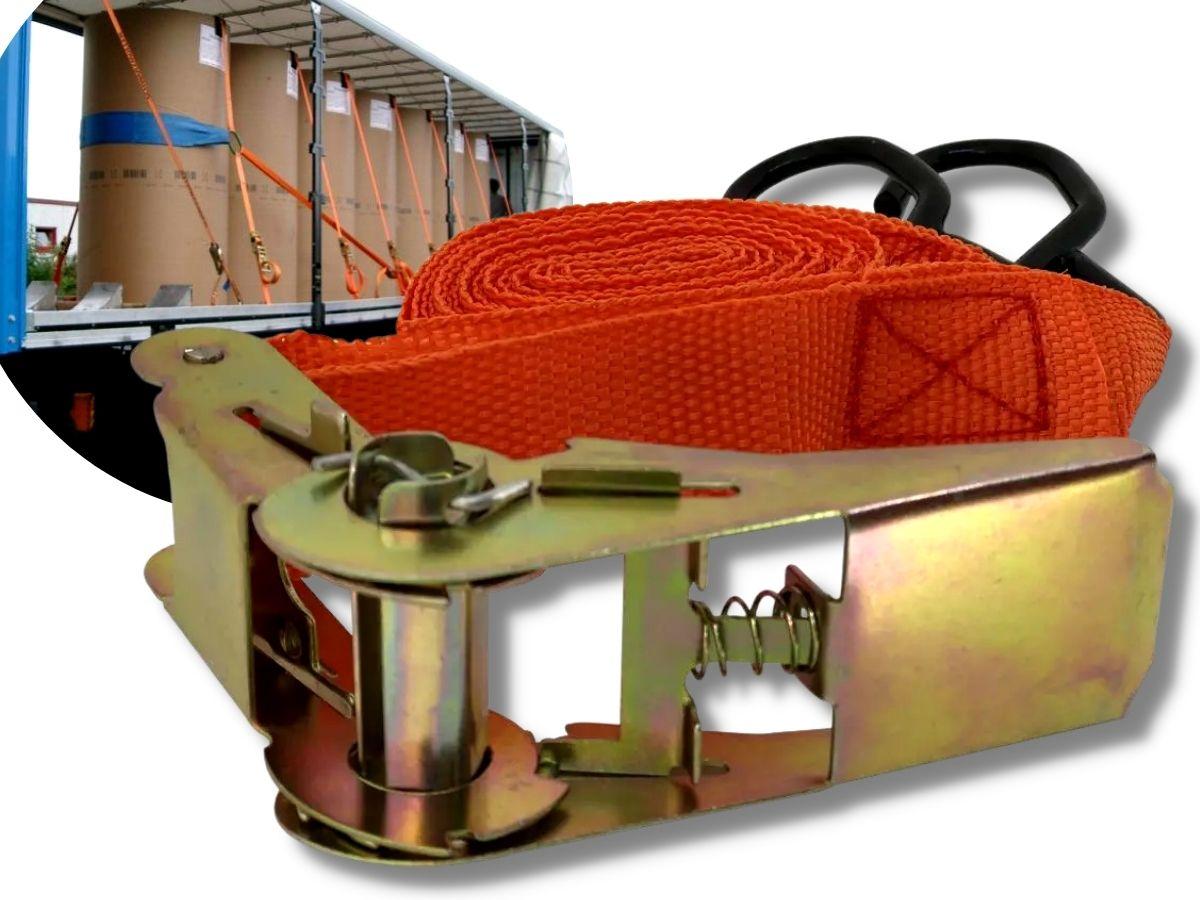 Cinta Para Carga Com Catraca 5 Metros Gorillaz 1199 150kg