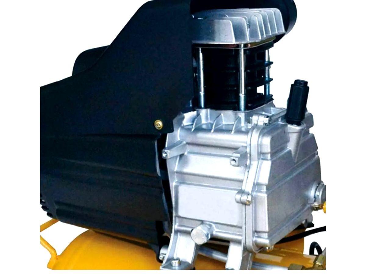 Compressor de Ar 20 Litros1.5HP Kala 863173 8BAR 115psi Amarelo