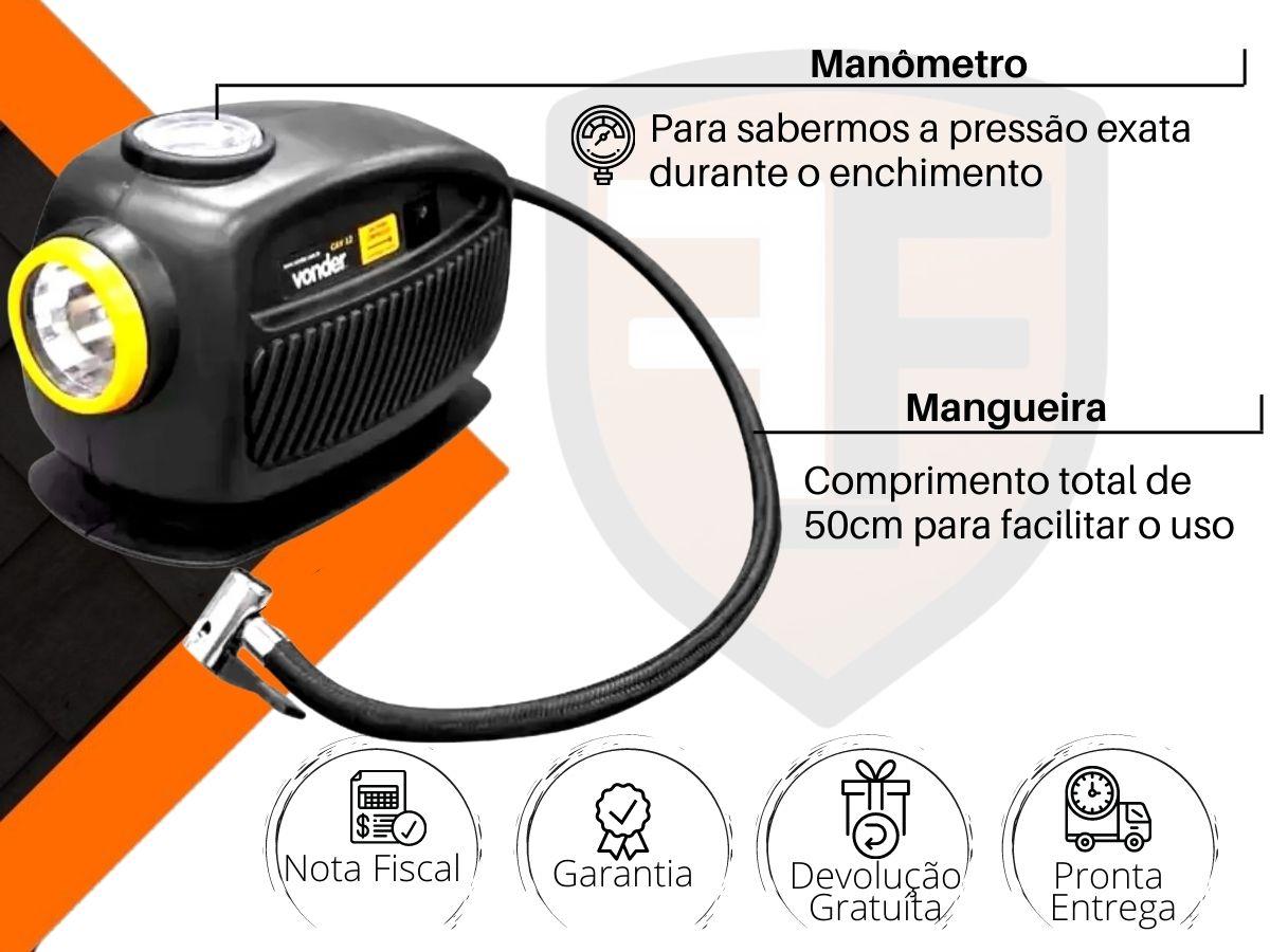 Compressor De Ar Automotivo 12v Vonder CAV-12
