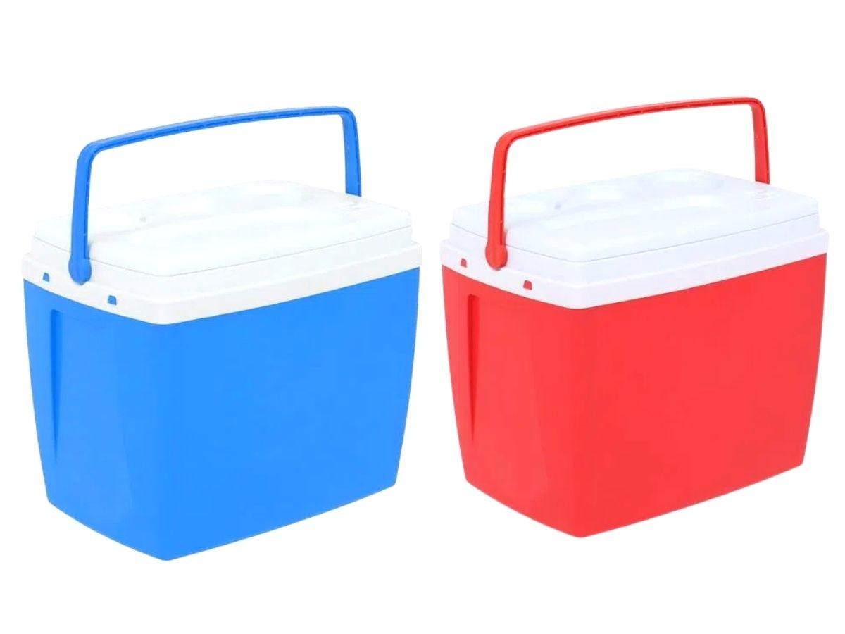 Cooler Caixa Térmica 18 Litros Bel Com Alça Ergonômica