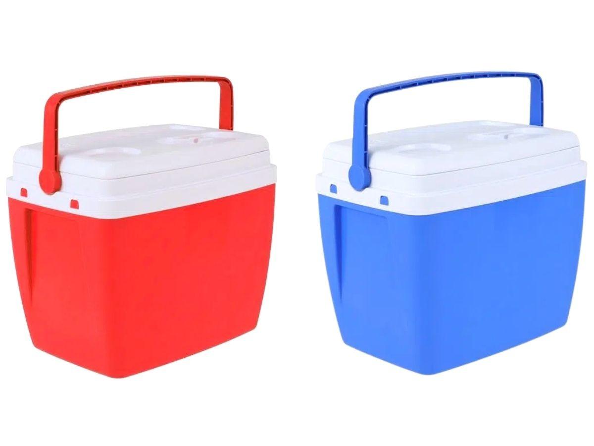 Cooler Caixa Térmica 34 Litros Bel Com Alça Ergonômica