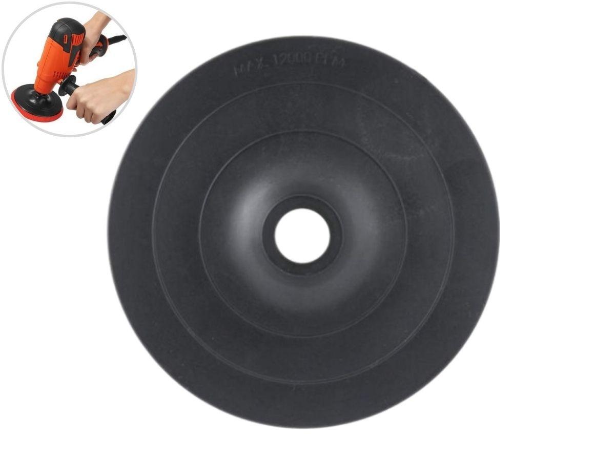 Disco De Borracha Mil Kits M-3 P/ Furadeira 5 Pol.