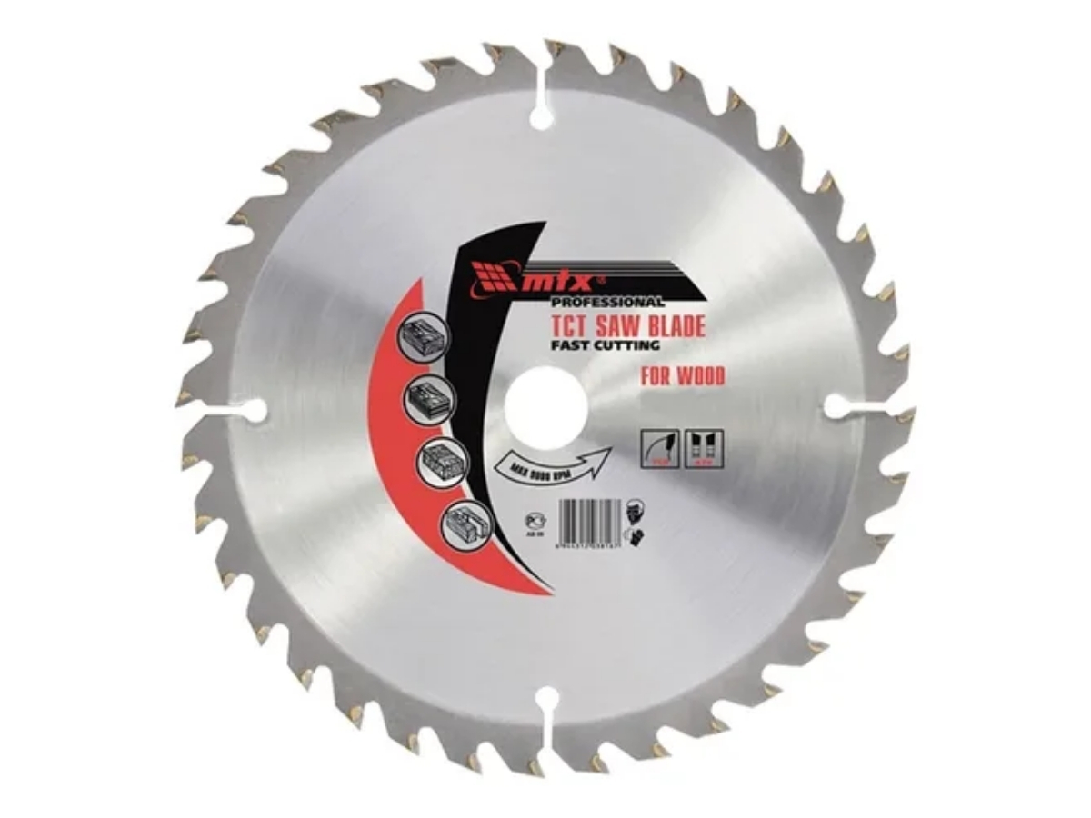 Disco De Corte Madeira 36 Dentes 185mm Mtx 7327855 Para Serra Circular