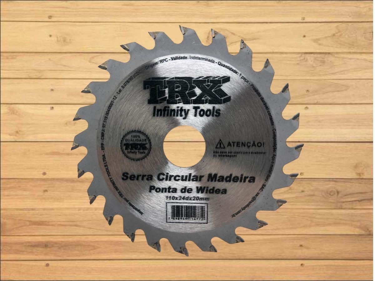 Disco De Corte TRX Infinity Tools Madeira 24 Dentes