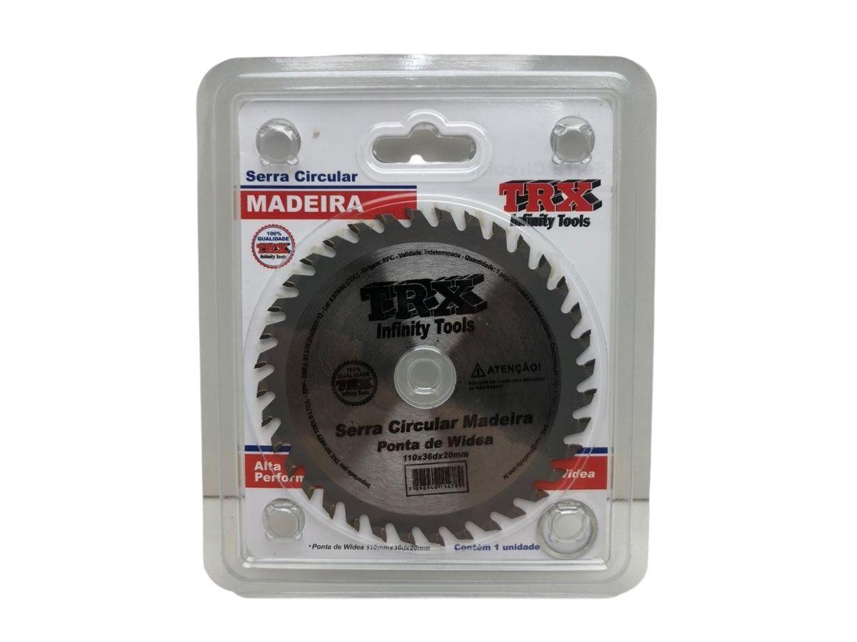 Disco De Corte Para Madeira 36 Dentes TRX Infinity Tools C/ Widea