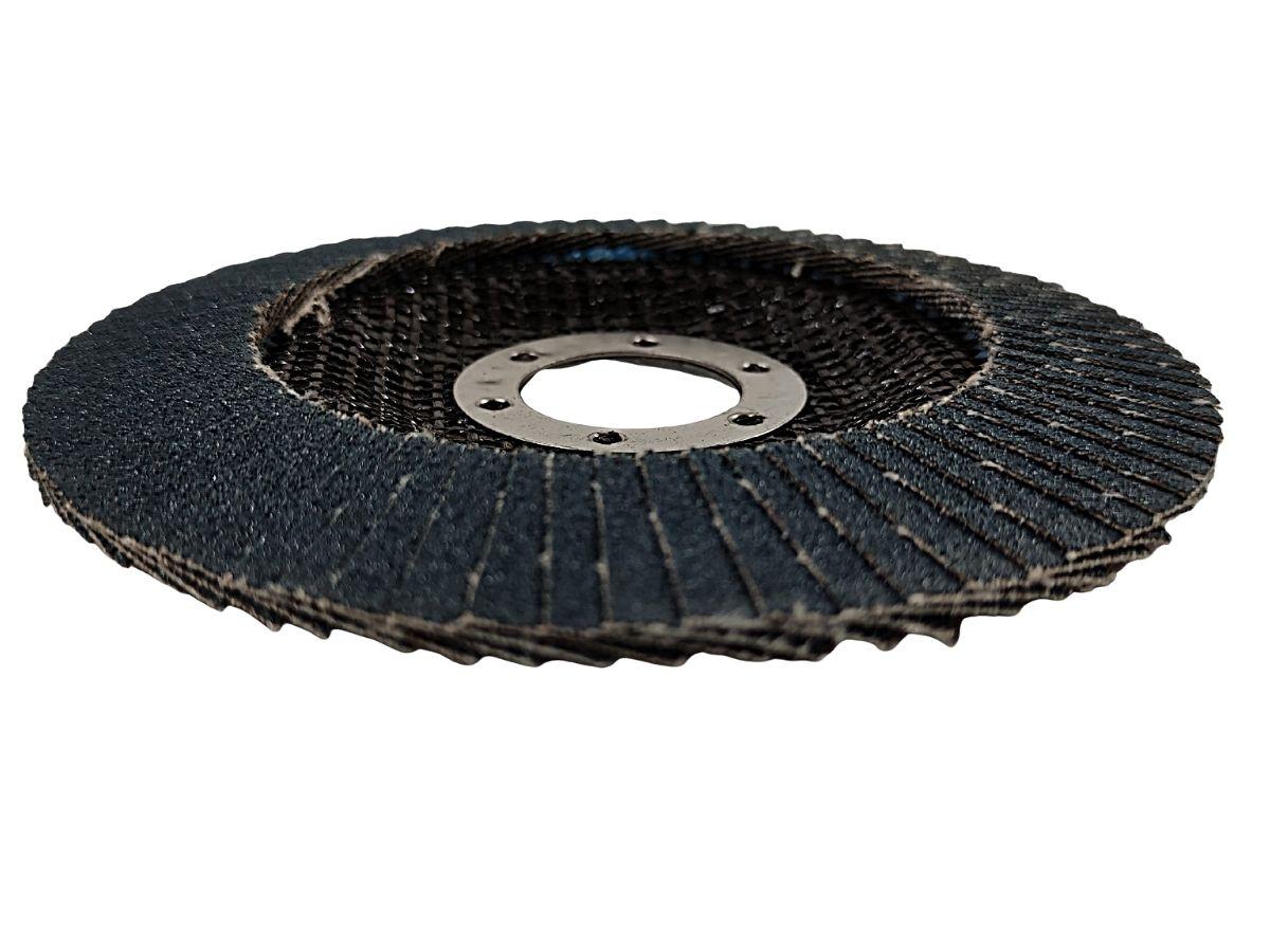 Disco De Lixa Flap Metal Hessen Za-120 13300rpm Para Lixadeira