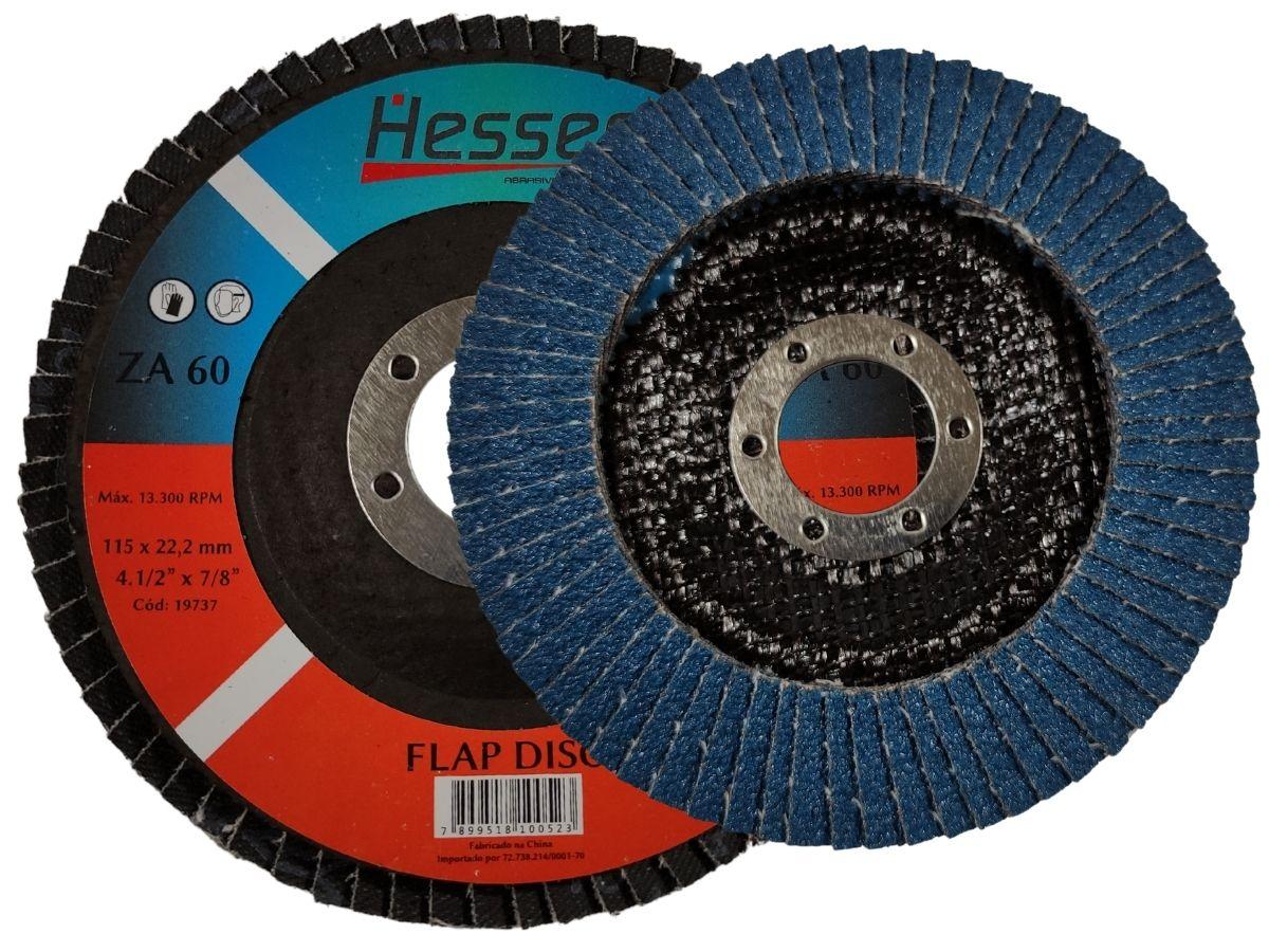 "Disco Flap Hessen ZA60 4.1/2"""