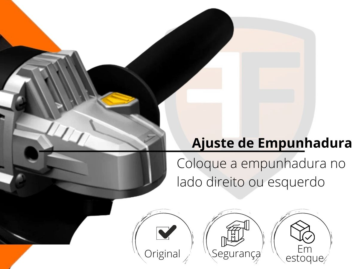 Esmerilhadeira Angular 710w Hammer Em-710 115mm