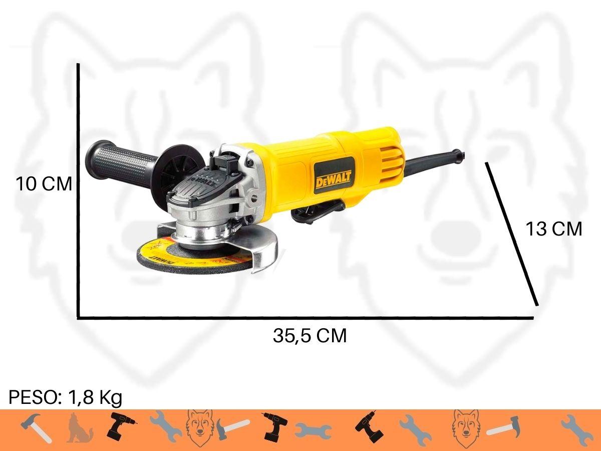 Esmerilhadeira Angular 800w DeWalt Dwe4020 115mm Uso Industrial
