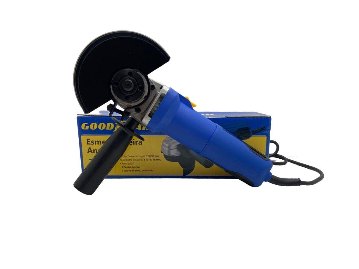 Esmerilhadeira Angular 710w Goodyear Gy-Ag-50060-3 115mm