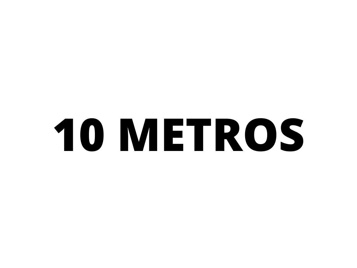 Extensão Elétrica 10 Metros 10A C/ 3 Tomadas