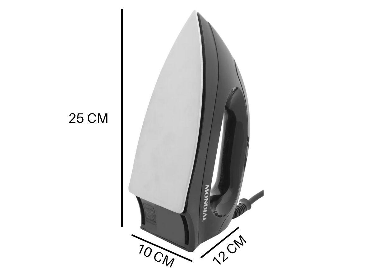 Ferro De Passar Roupa A Seco 1000w Mondial FSN-55 6 Temperaturas