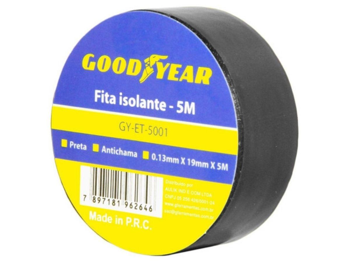 Fita Isolante Goodyear GY-ET-5001 5M Anti-Chama
