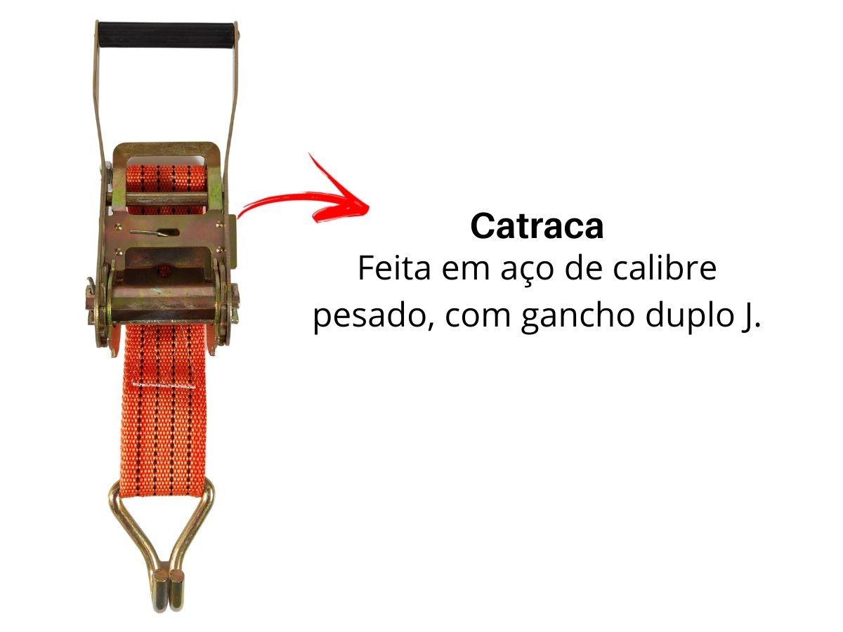 Fita Para Prender Carga 50mmX10m Troya Tools TRY-9770 Profissional