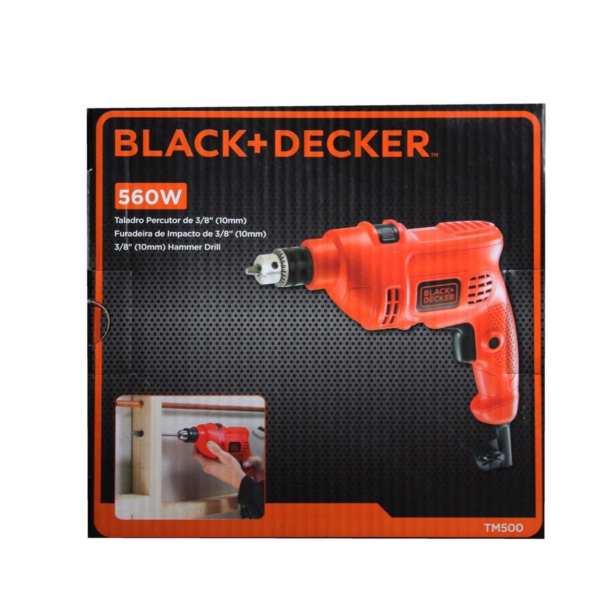 Furadeira De Impacto 560w 10mm Black e Decker TM-500-B2