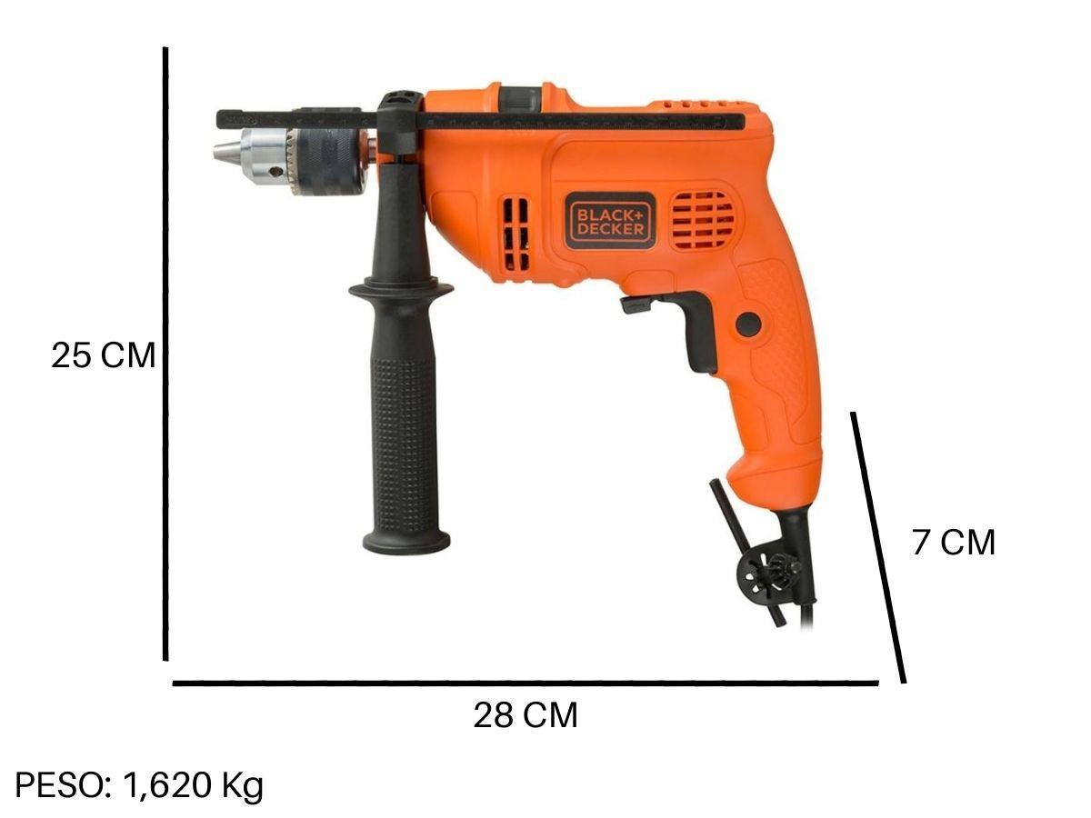 Furadeira De Impacto 560w 13mm Black e Decker Tm-555