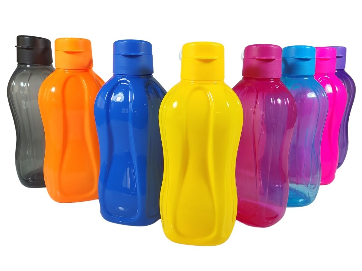 Garrafa Squeeze 1 Litro Plástico Resistente Homeflex