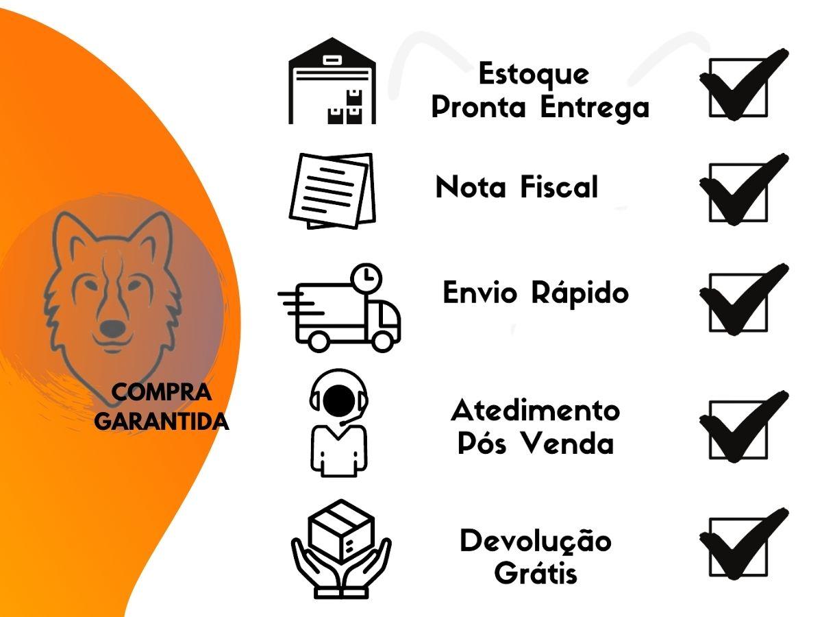 Jogo De Potes Herméticos Hauskraft POTE-070 3 Peças Aço Inox