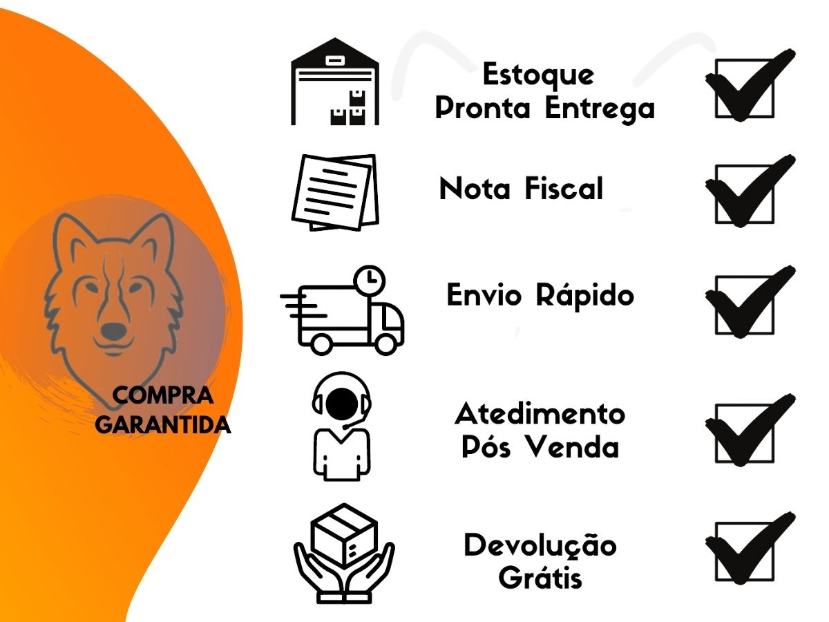 Jogo De Serra Copo Gorillaz 8879 Aço 11 Peças Madeira e Acrílico