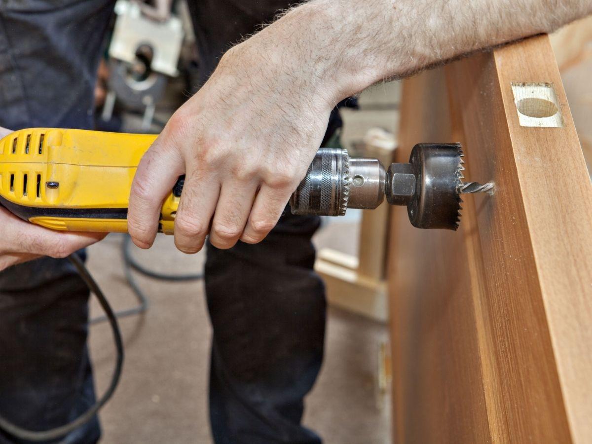 Jogo De Serra Copo Hammer Sr-1100 Madeira e Metal