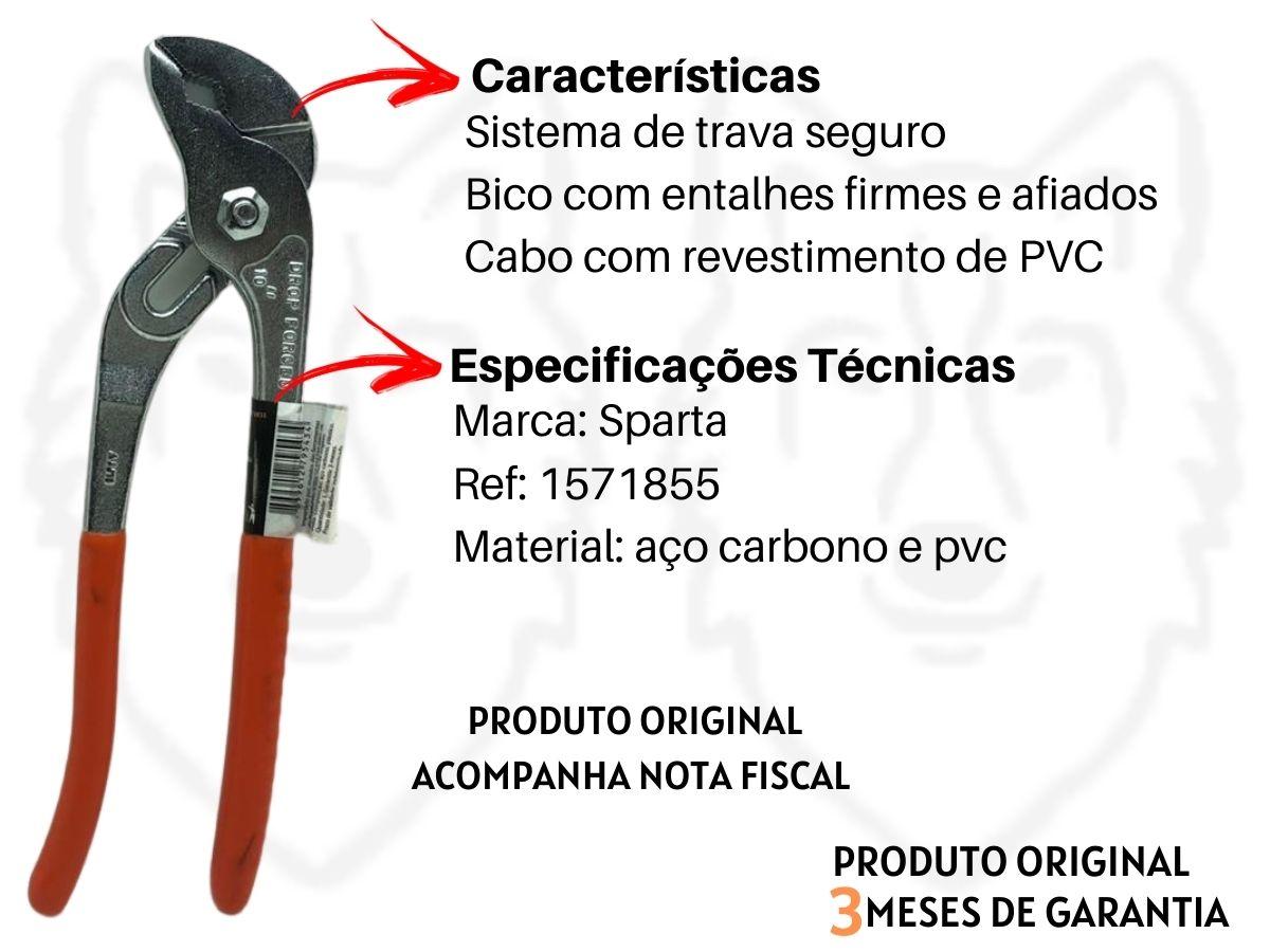 Kit Alicate Bomba D'Água + Alicate De Pressão Mordente Curvo + Martelo Unha Magnético Mtx