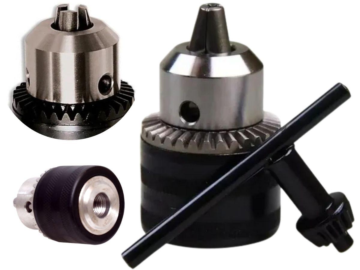 Kit De Mandril 13mm Para Furadeira MTX 168179 2 Peças