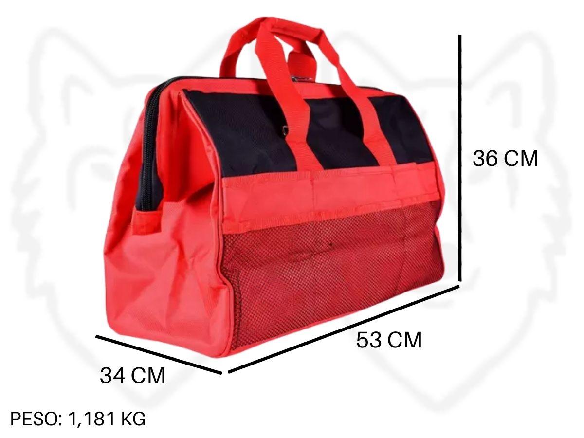 Kit Esmerilhadeira Angular 650w 115mm C/ 3 Discos De Corte + Bolsa Porta Ferramentas