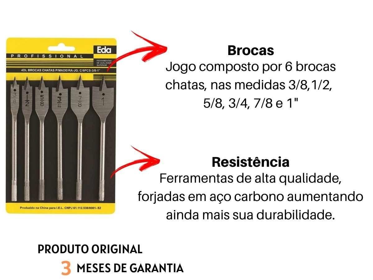 Kit Ferramentas Furadeira De Impacto 600w Goodyear GY-DI-10600K-3 Com Brocas Chata Idea 4DL Voltagem:127v