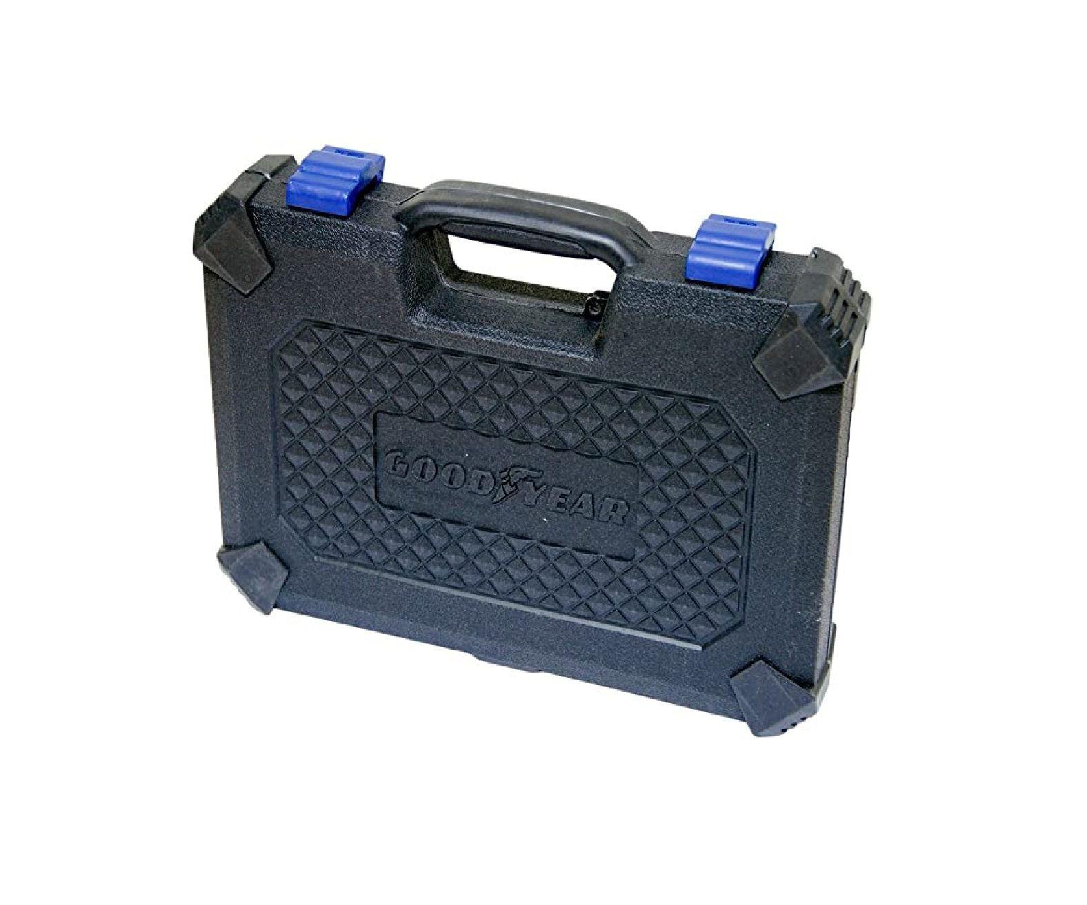 Kit Jogo De Broca e Bits Goodyear Gy-Dk-5006B  Acessórios C/ Maleta 110 Peças