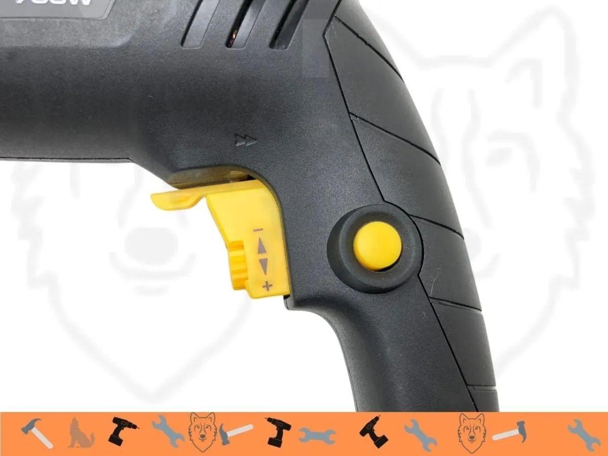 Kit Furadeira De Impacto 700w 13mm + Kit De Ferramentas 134 Peças Com Maleta